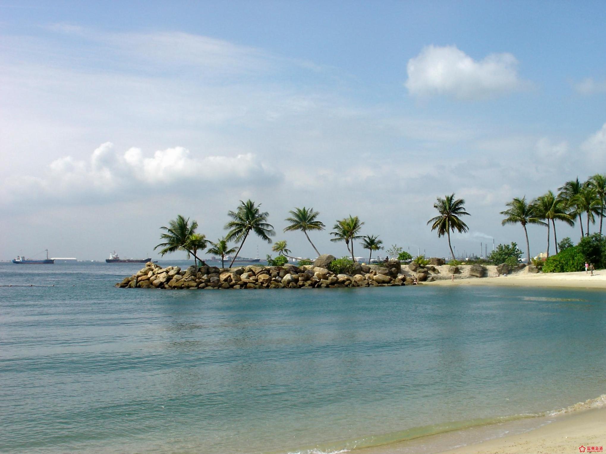 新加坡风光 圣淘沙岛